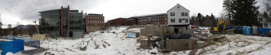 Kellogg over new foundation--January 2014 - - Photo by  Nicholas Whitman