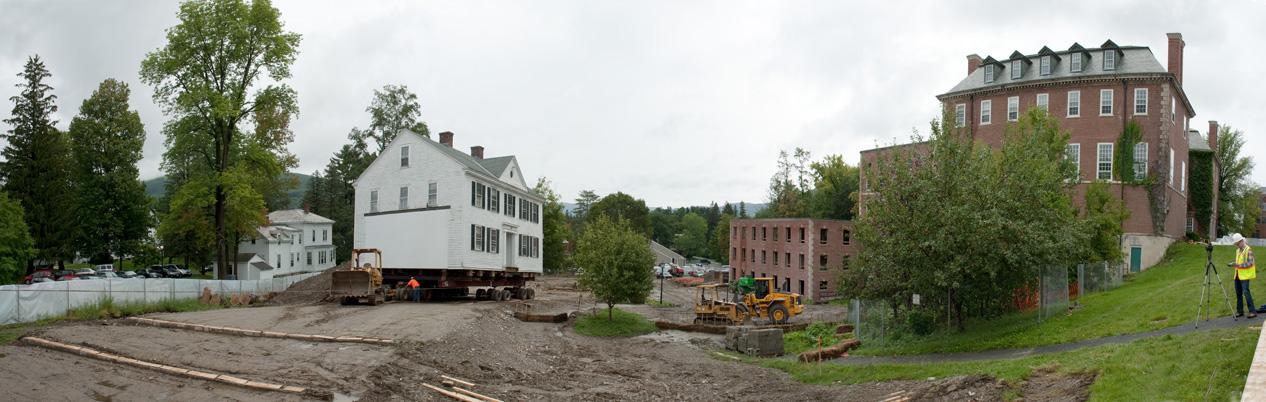Moving Kellogg House September 2011- Photo by  Nicholas Whitman
